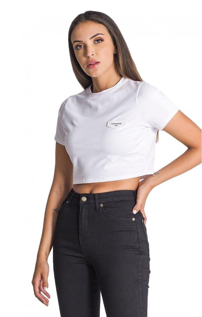Camiseta Gianni Kavanagh corta Blanco