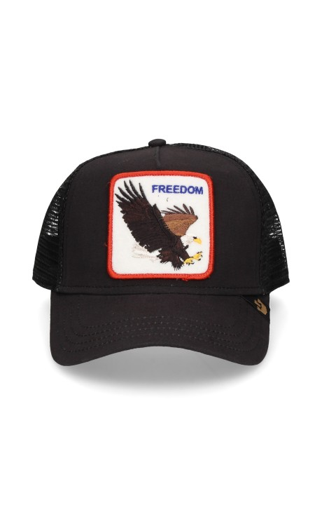 Gorra Goorin Bros Aguila Freedom Negra