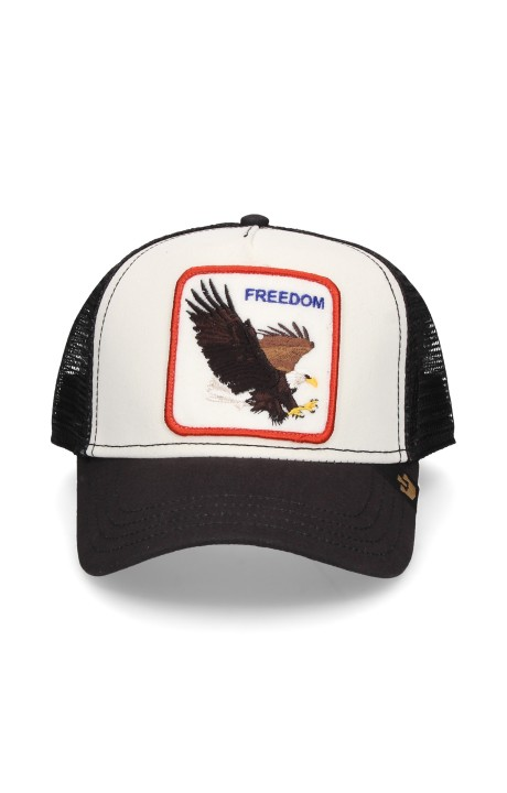 Gorra Goorin Bros blanca águila Freedom