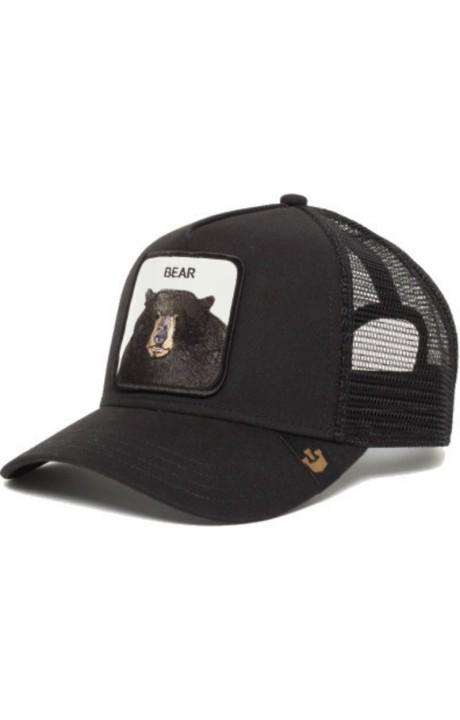 Cap, Goorin Bros Trucker Bear Black Bear black