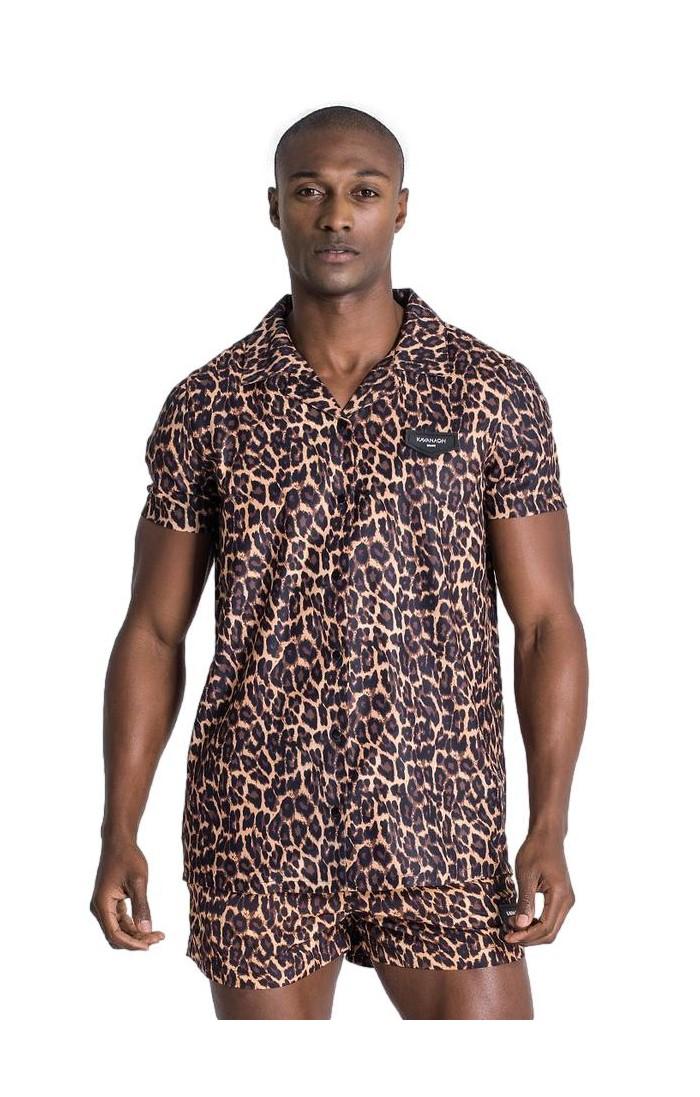 Camisa Gianni Kavanagh de Leopardo...