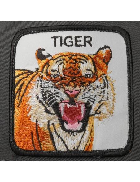 Gorra Goorin Bros Trucker Eye of the Tiger Gris