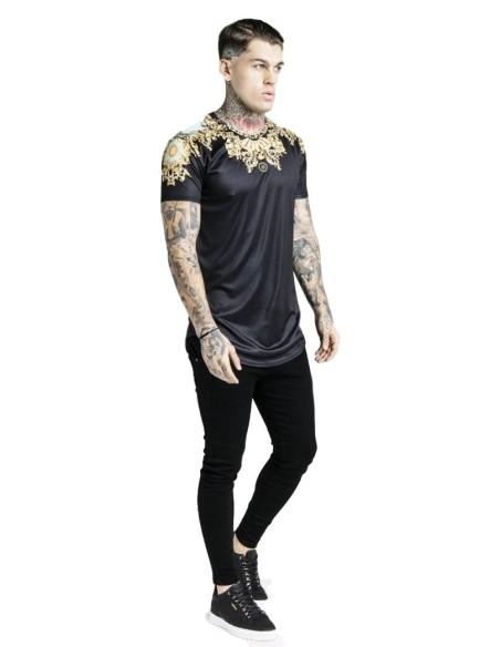 Camiseta SikSilk Lord negro x Dani Alves