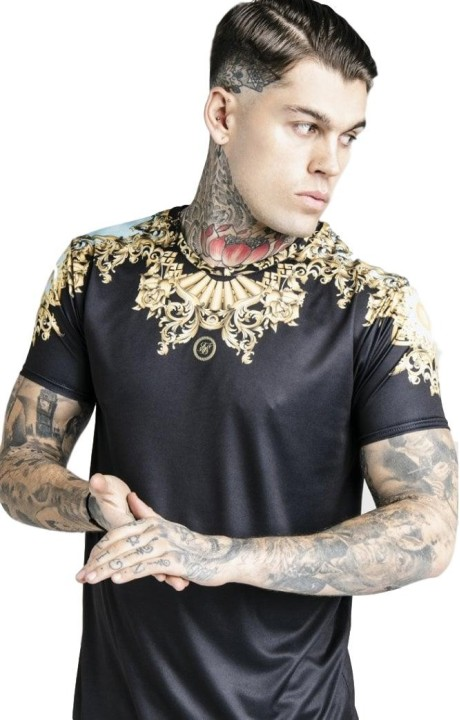 Camiseta SikSilk Lord negro x Dani Alves