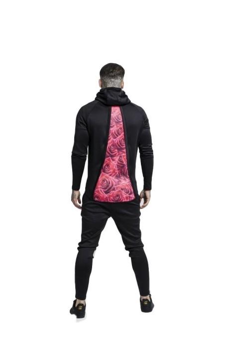 T-shirt Gianni Kavanagh détails de Noir Rose