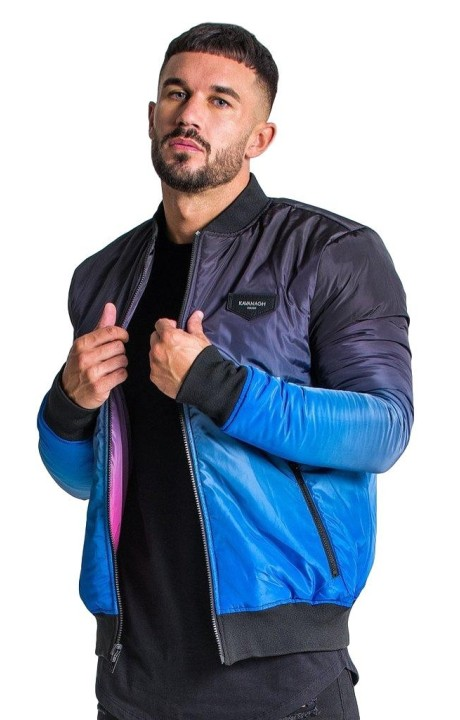 Reversible jacket Gianni Kavanagh Blue and Pink