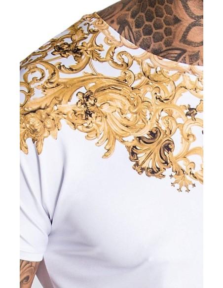 Camiseta Gianni Kavanagh Blanca Barroco