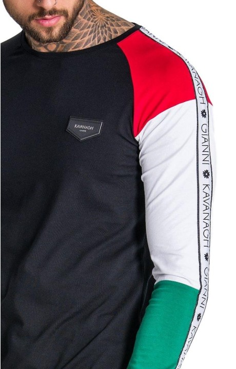 Camiseta Gianni Kavanagh Bloque Asimétrica GK