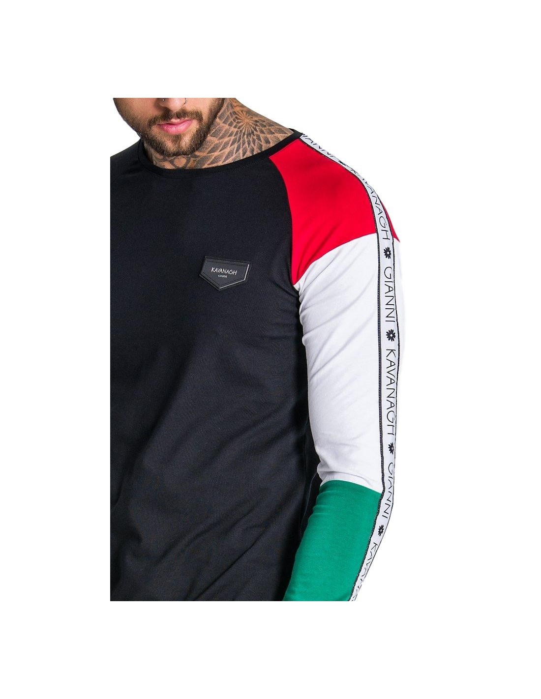 T-shirt Gianni Kavanagh Block Asymmetrical GK