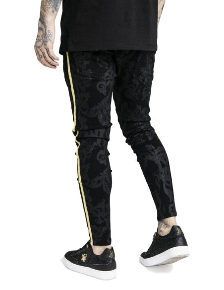 Pantalón Vaquero SikSilk negro x Dani Alves