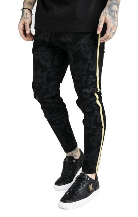 Cow-boy pantalon de SikSilk x noir Dani Alves
