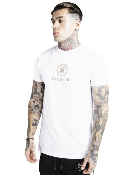 Camiseta Aces Couture Costura Blanco