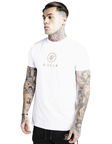 Camiseta Aces Couture Costura Blanco