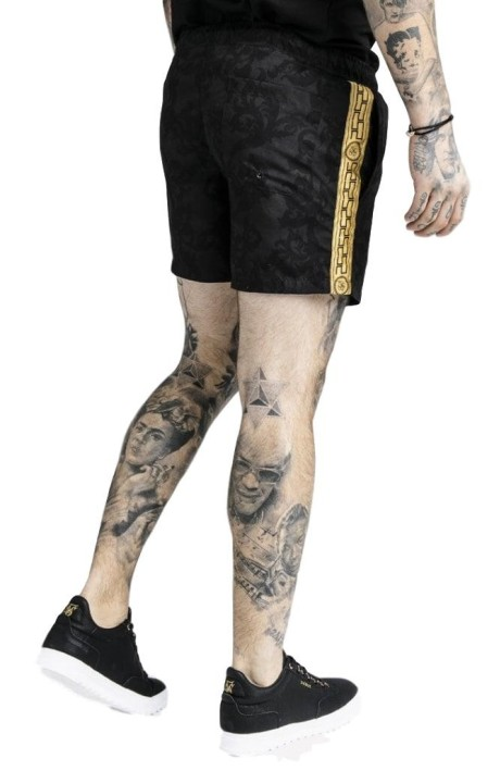 Pants SIKSILK Short Tight Relaxed
