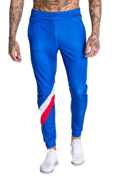 Pant tracksuit Gianni Kavanagh with blue stripes diagonal