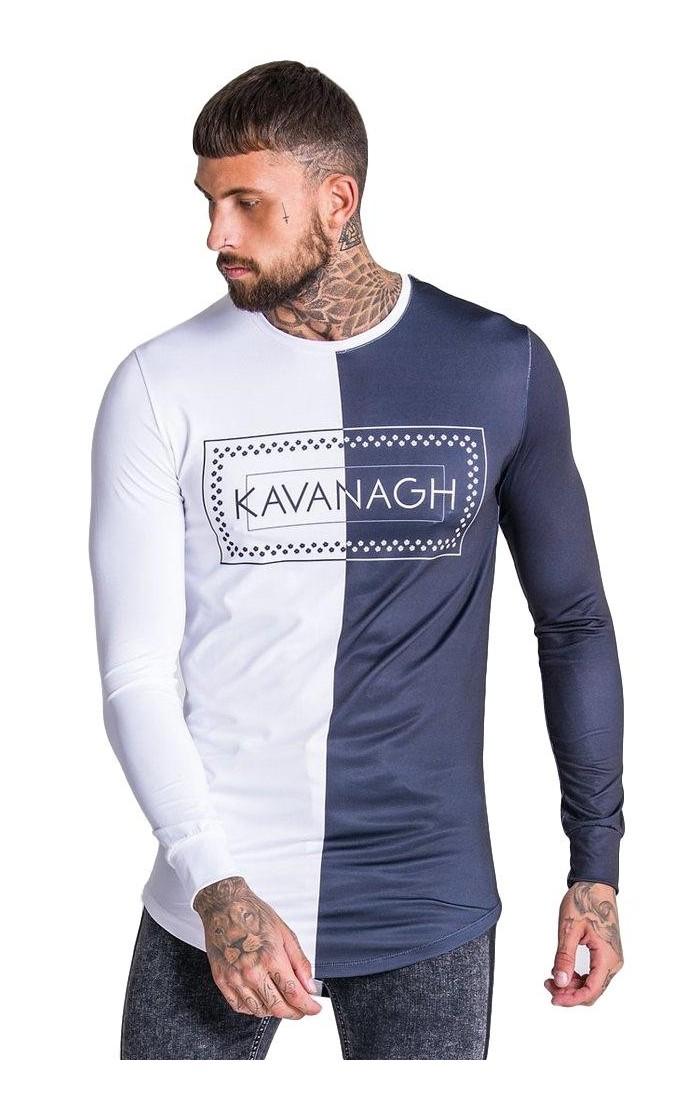 Camiseta Gianni Kavanagh dos tonos logo