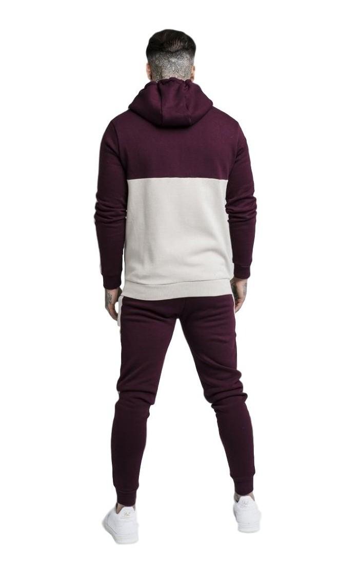 3a7863563e1db Pantalon de Survêtement Gianni Kavanagh blanc laser rose