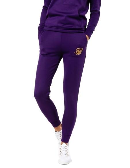 Pantalon SikSilk Poly Joggers Púrpura