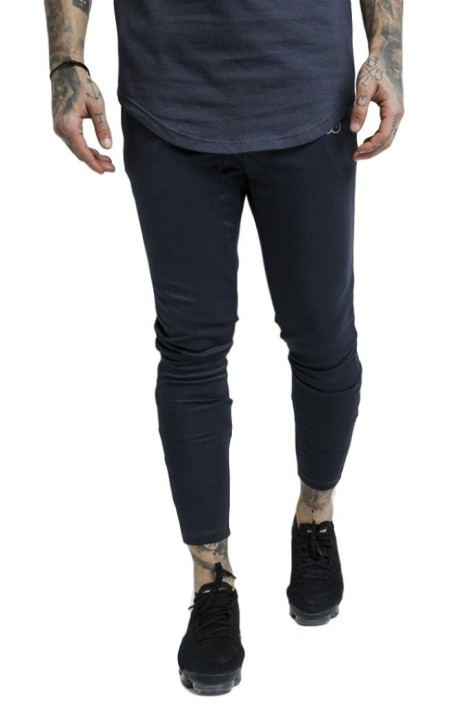Pantalon SikSilk Athlete Tracked Antracita