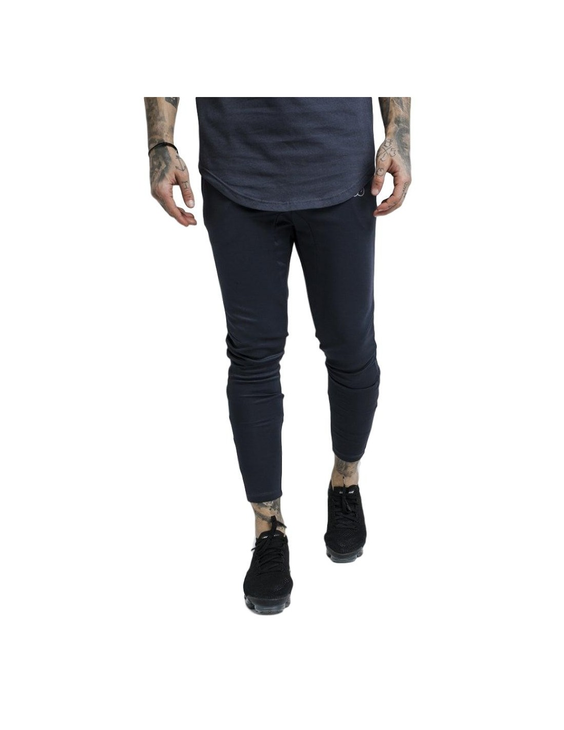 Pantalon SikSilk Athlete Tracked Anthracite