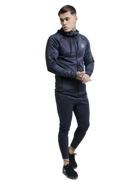 Pantalon SikSilk Athlete Tracked Antracita