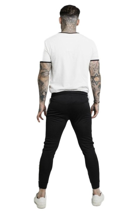 Pantalon De SikSilk Coupe Ultra Tech Gris