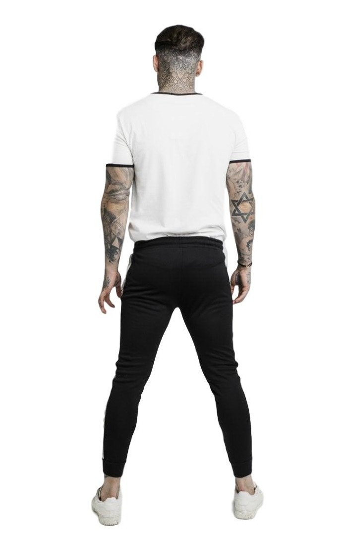 Pantalones SikSilk Recortados Ultra Tech Gris claro