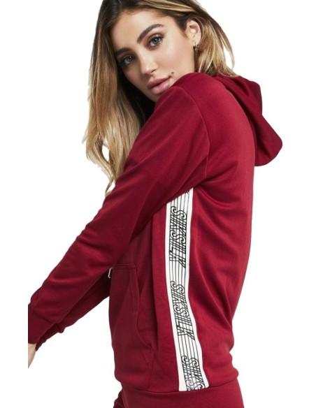 Sudadera con capucha SikSilk Runner - Rojo