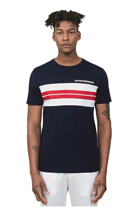 T-shirt Antony Morato avec des Applications et Bande