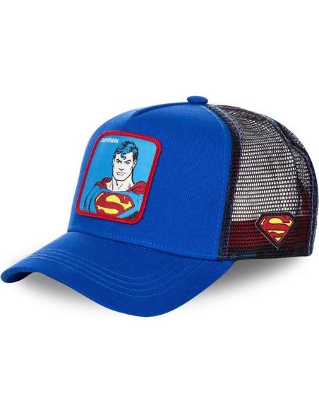 Gorra Capslab azul Superman clásico Comics