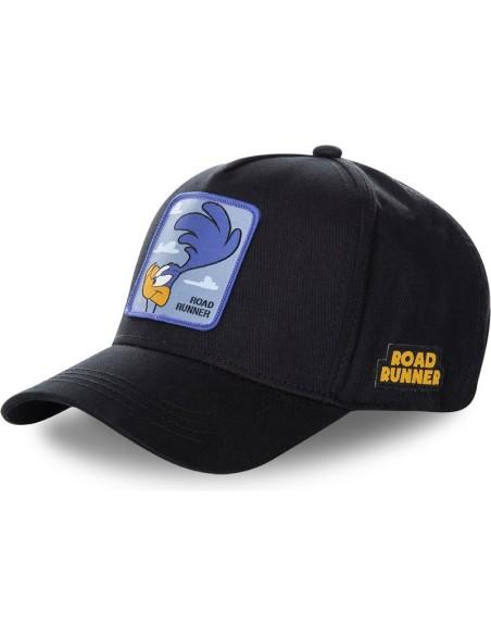 Gorra Capslab negra Correcaminos Looney Tunes
