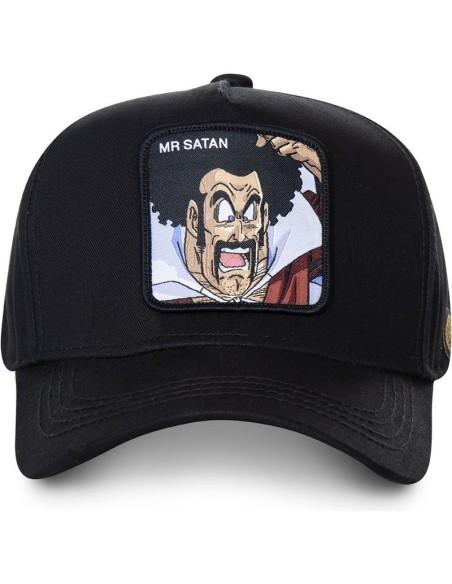 Gorra Capslab Mr.Satan Dragon Ball Negra
