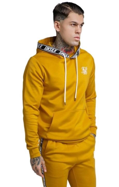 Sweatshirt SikSilk Poly Overhead Mustard