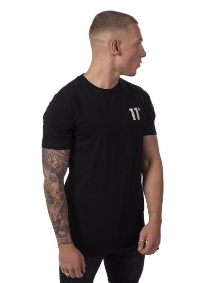 Camiseta 11 Degrees Meteor Graphic Negro