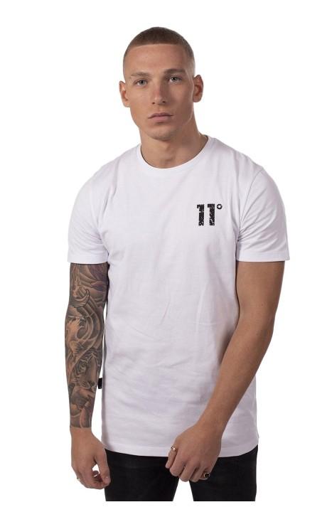 Camiseta 11 Degrees Meteor Graphic Blanco