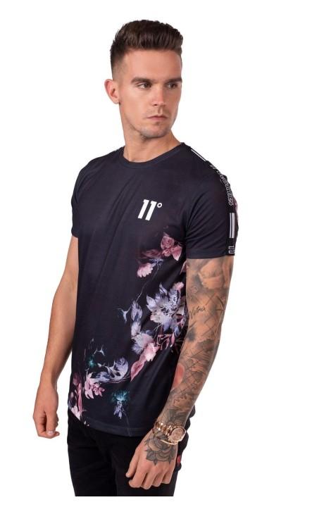 T-Shirt De 11 Degrés Sombres De La Nuit Noire