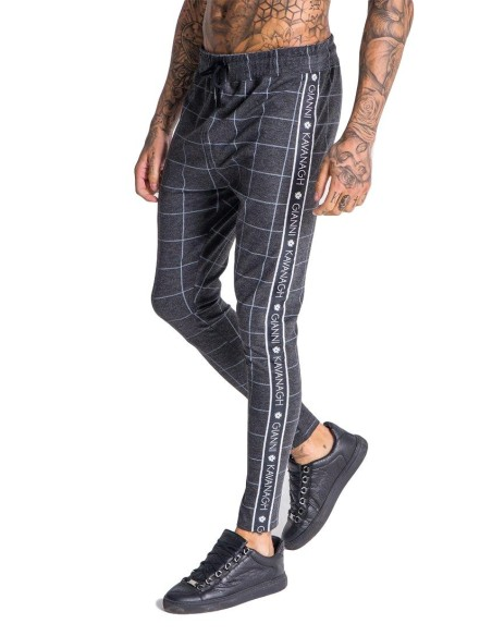 Pantalon Gianni Kavanagh a Cuadros con Cinta Negra
