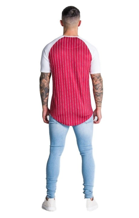 Shirt By SikSilk Lurex Gold White