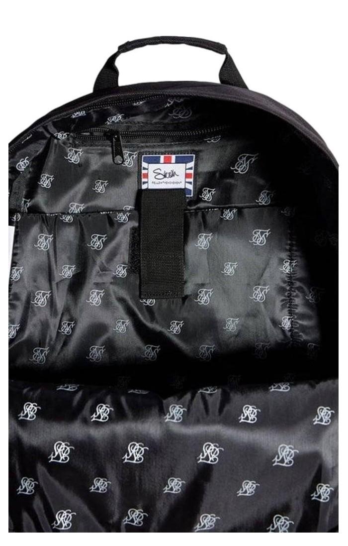Pantalón de Chandal SikSilk Basculador Reglán Negro