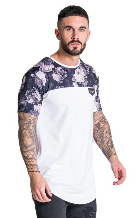 Camiseta Gianni Kavanagh con Estampado de Flores Nostalgicas