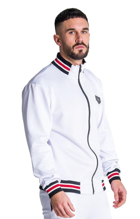 Jacket Gianni Kavanagh White with Rib Custom