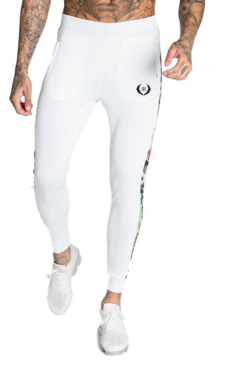 Pant Tracksuit Roone Roman White tape Tropical