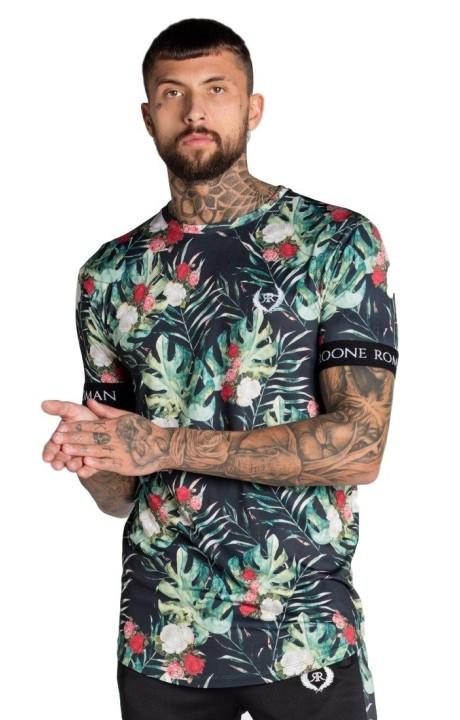 Camiseta Roone Roman Tropical con cinta