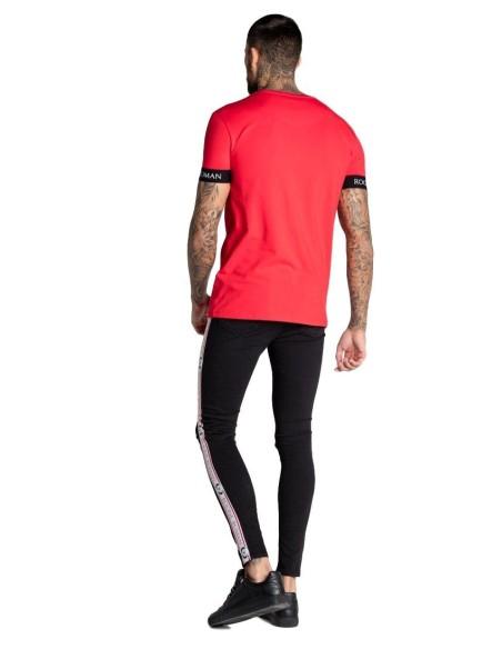 Camiseta Roone Roman Roja con elástico RR