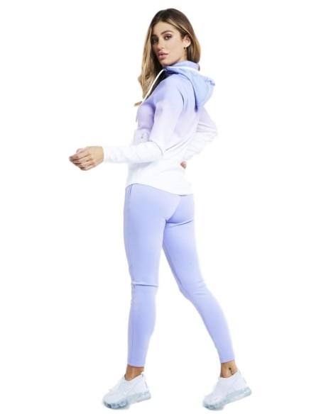 Sudadera con capucha y cremallera de SikSilk Athlete