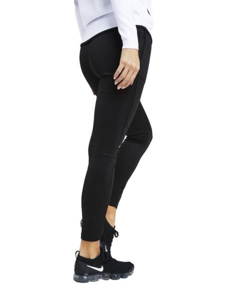 Pantalon SikSilk Atleta Negro Y Oro