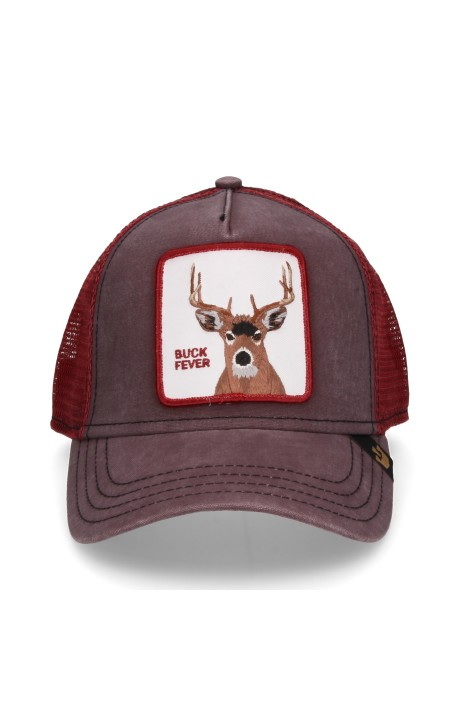 Cap, Goorin Bros Red Deer Bordeaux
