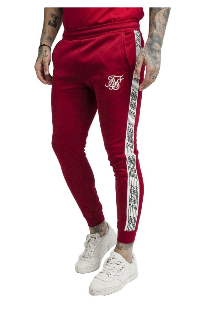 Pantalon De SikSilk Bouffant Runner Rouge