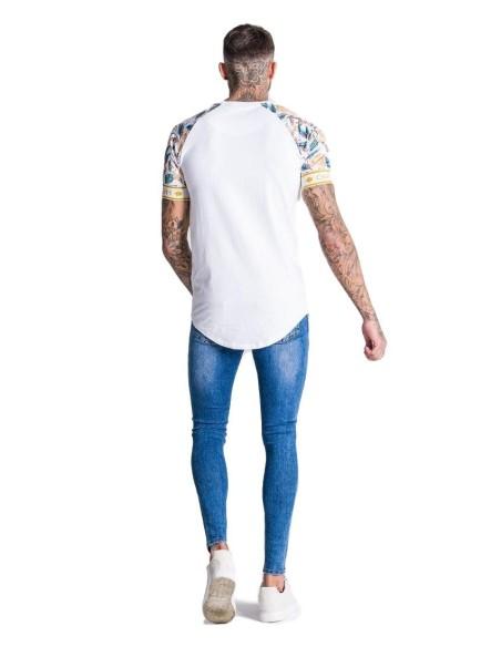 Pantalón Gianni Kavanagh cuadro negro con linea blanca