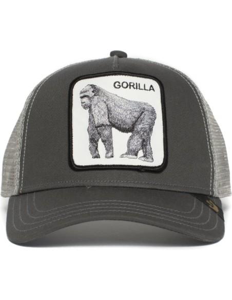 Gorra Goorin Bros Gorila El Rey de la Jungla Gris